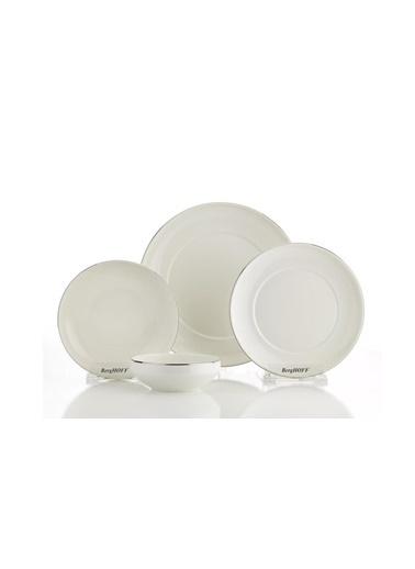 Berghoff Gem Melbourne Silver 24 Parça Bone Yemek Takımı Renkli